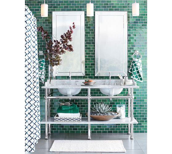 Green Bathrooms Designs, Green Bathroom Tiles And