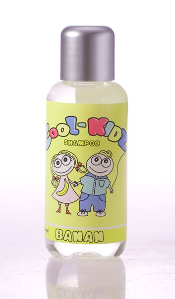 Banana Shampoo 100 ml.  All natural ingredients. Mild cleansing. Protects and strengthens the hair shaft. Suitable for all hair types.