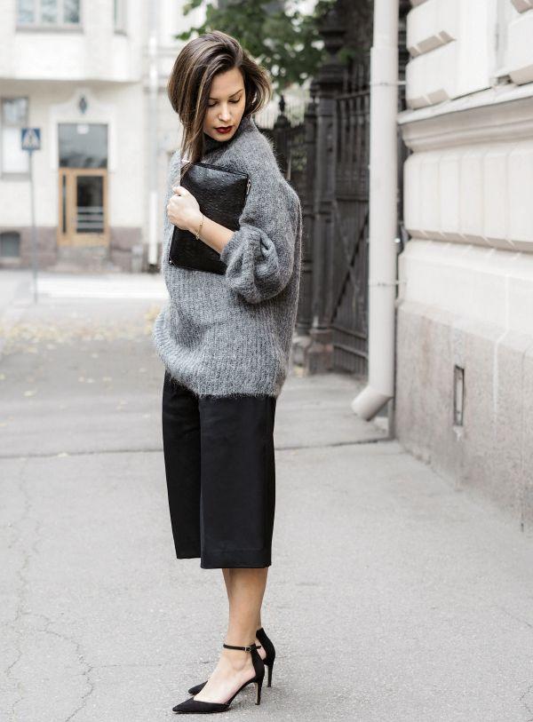 Turtleneck & Culottes - Fashionweek 2.0