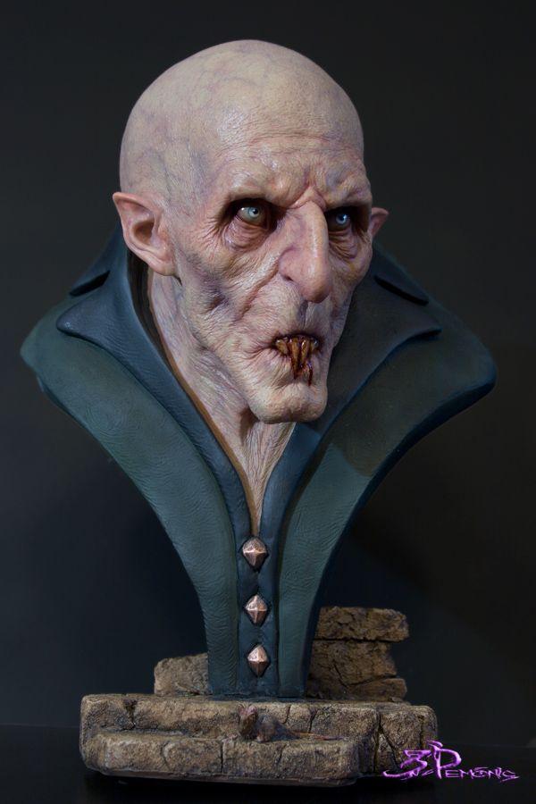 NOSFERATU | Bust | Horror art, Vampire bat, Creature design