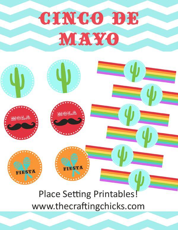 """{12 Free """"Cinco de Mayo"""" Printables}"""