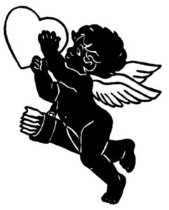 Ангелы,силуэт