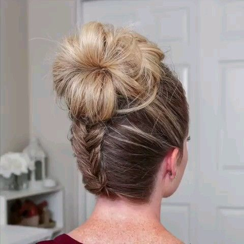 10 Braided Bun Hair Styles (Tutorial) – Hair.