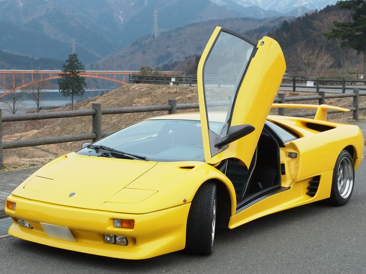 ランボルギーニ・ディアブロ : スポーツカーといえばリトラクダブルだった時代 - NAVER まとめ