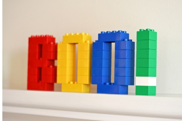 Lego Duplo blocks, so fun.
