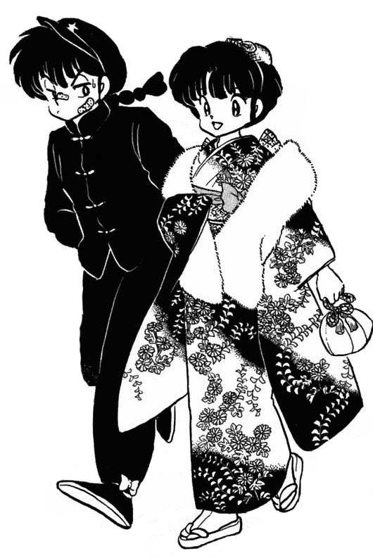 Ranma ½ Manga Caps : Photo