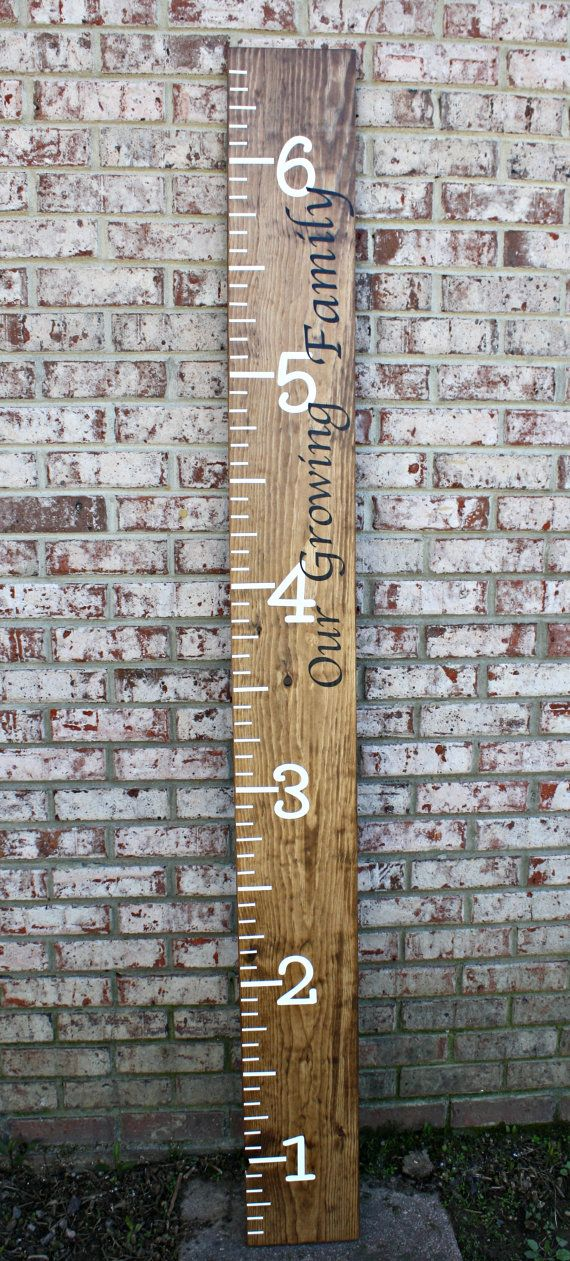 Kids Ruler, Personalized Kids Growth Chart, Solid Wood Growth Chart, Kids Wooden…
