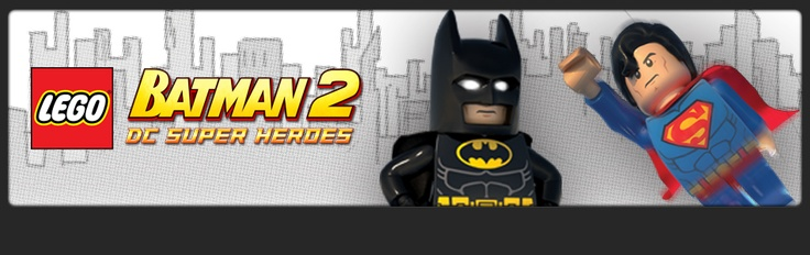 Lego Batman 2 - now with more Superman!  This will definitely be part of Gabey's party.