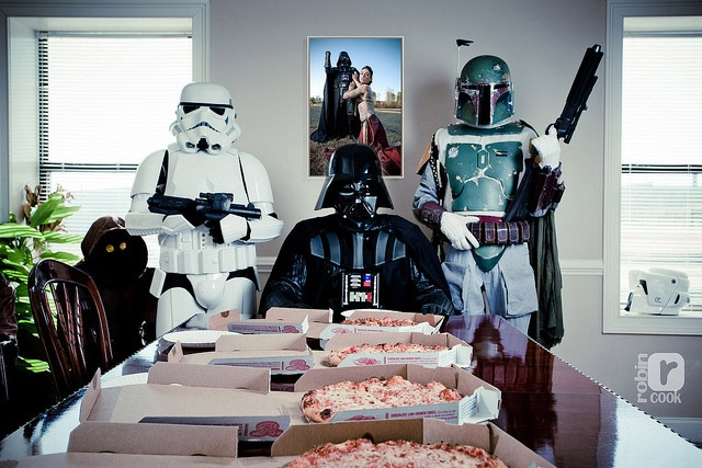 Pizza Party over at the Darkside!