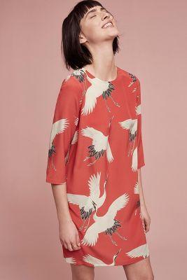 Demoiselle silk tunic dress