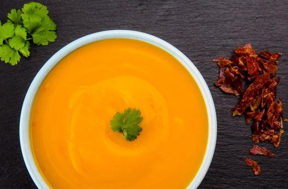 Asiatisk græskarsuppe - nemlig.com