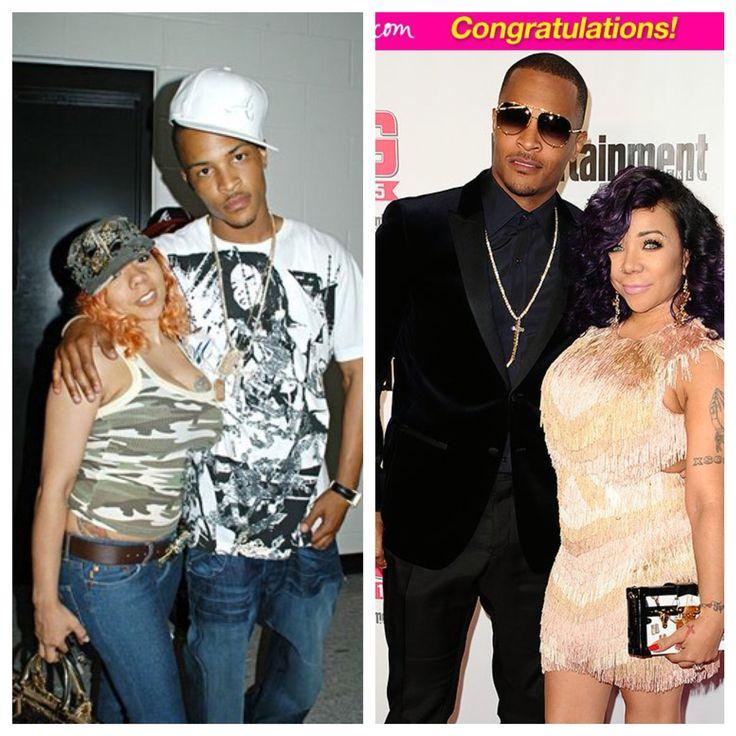Rapper #T.I. & wife Tameka #Tiny Harris