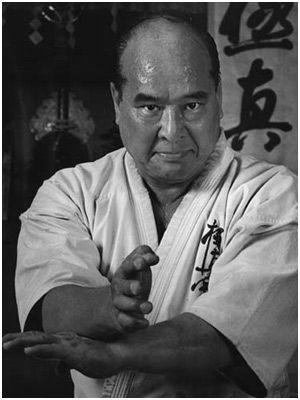 Masutatsu Oyama, Korean born Japanese karate master