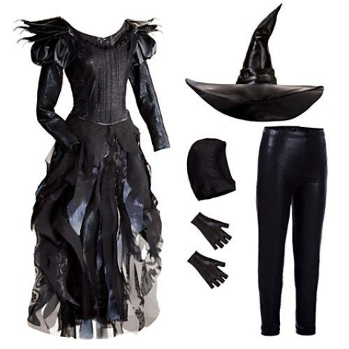 Mila Kunis Wicked Witch of the West Halloween Costume 2013