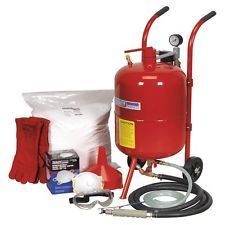 Sealey Shot & Soda Blasting Kit (SBKIT)