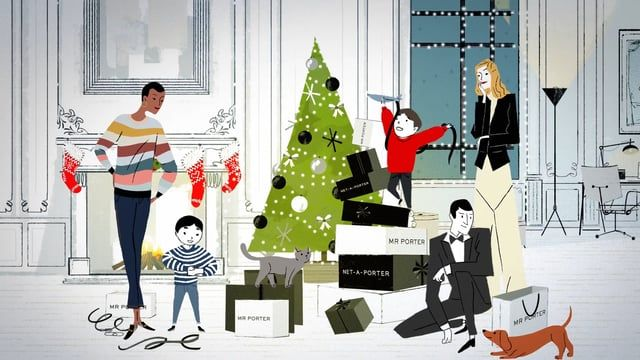 Mr Porter—Gifts All Wrapped Up from Animade