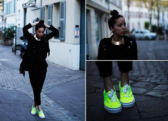 Neon Vans (by Vanessa Perroud) http://lookbook.nu/look/3462055-Neon-Vans