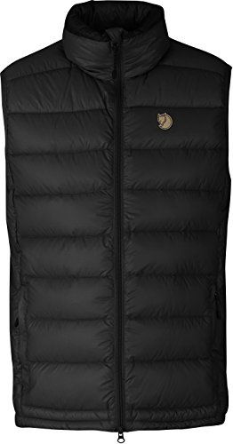 Fjallraven Mens Pak Down Vest 3XLarge Black *** Visit the image link more details.