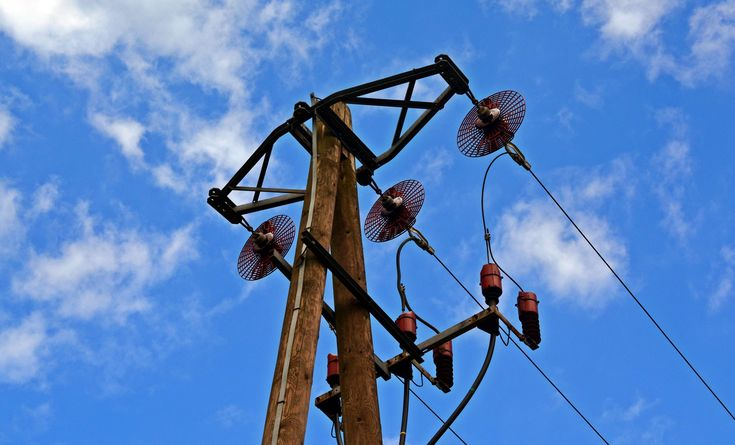 #blue sky #catenary #clouds #danger #electric posts #electrical post #electricity #energy #high #high voltage #industrial #iron #line #low angle shot #outdoors #power #power line #steel #technology #wire #wood