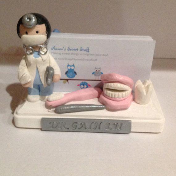 Polímero arcilla tarjetero dentista pasta de por NaomisSweetStuff