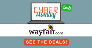 Need to get your Home Holiday Ready? Save with Wayfair Cyber Monday Deals!