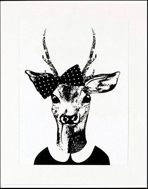 Home affaire gerahmter Kunstdruck »Reh-Frau in Spaziergang-Kleidung«, 33/43 cm Jetzt bestellen unter: https://moebel.ladendirekt.de/dekoration/bilder-und-rahmen/poster/?uid=e4676a06-dd08-5d19-a8bc-f4d6bc0b7380&utm_source=pinterest&utm_medium=pin&utm_campaign=boards #zubehör #bilder #rahmen #poster #dekoration