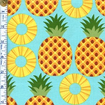 Pineapple fabric.