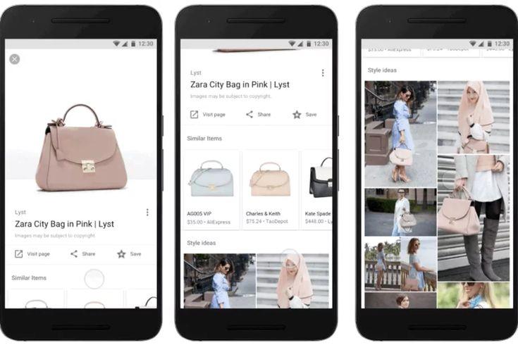 """Google esta probandouna nueva funcionalidad en el buscador para móviles y la ha bautizado como """"style ideas"""". Ahora en la búsqueda de imágenes mostrará pr"""