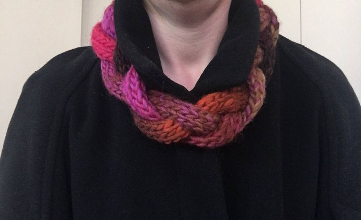 A personal favourite from my Etsy shop https://www.etsy.com/au/listing/491859078/braided-scarf