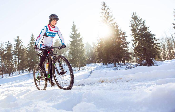 Tecrübeli Pro Triatlet Daniela Sammler Cube Elite Super HPC Race ile antrenmanlarına aralıksız devam ediyor.