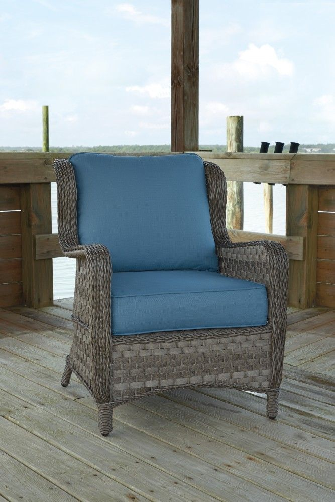 Abbots Court   Blue/Gray   Lounge Chair W/Cushion By Ashley Furniture. Get  Your Abbots Court   Blue/Gray   Lounge Chair W/Cushion At Roadside Furniture,  ...