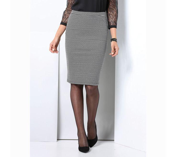 Pouzdrová sukně s pružným pasem   modino.cz #modino_cz #modino_style #style #fashion #autumn #bestseller #podzim