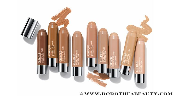 Makeup News: Clinique Chubby in the Nude Foundation Stick and Clinique Pep-Start Eye Cream | Dorothea Beauty