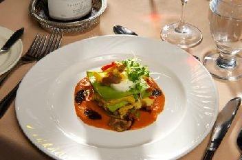 Fine cuisine au Manoir du Lac William, St-Ferdinand, fier membre du Réseau Hôtellerie Champêtre