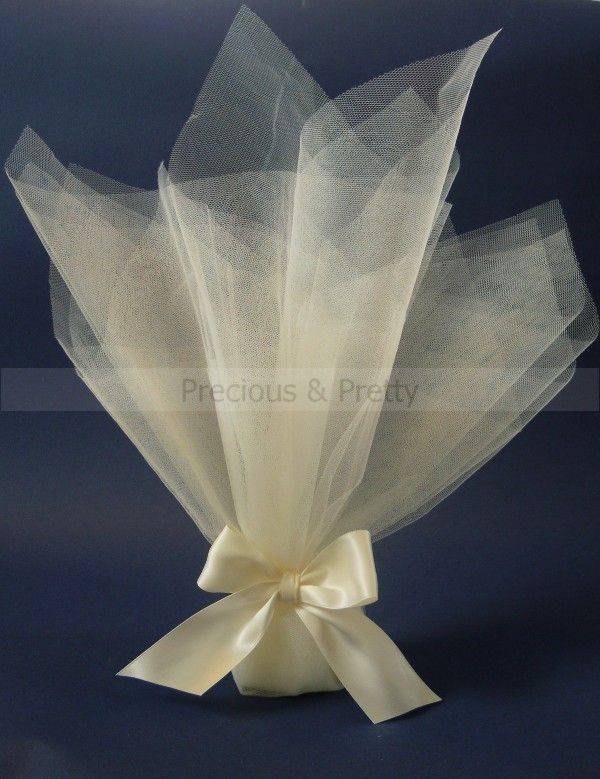 Unique Wedding Bomboniere: Weddings favors with tulles