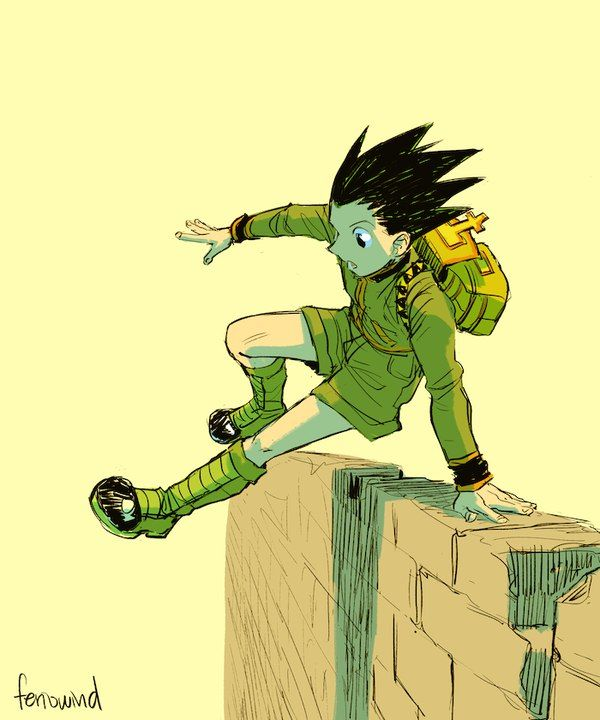 Gon Freecs Hunter x Hunter