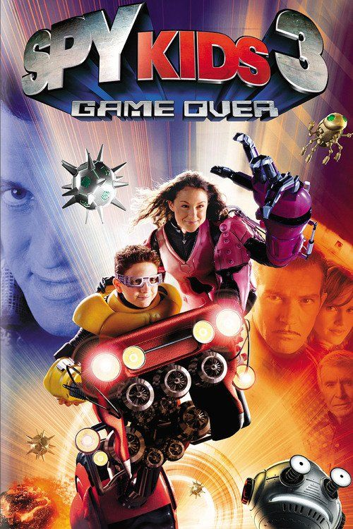 Watch Spy Kids 3-D: Game Over (2003) Full Movie Online Free