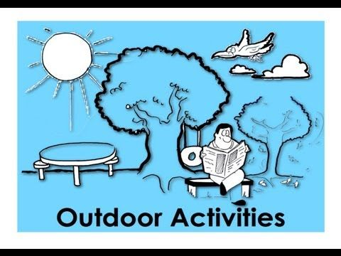 Outdoor Activities. Present Continuous Tense. Easy English Conversation Practice. - outdoor activities - http://sports.onwired.biz/extreme-sports/outdoor-activities-present-continuous-tense-easy-english-conversation-practice-outdoor-activities/
