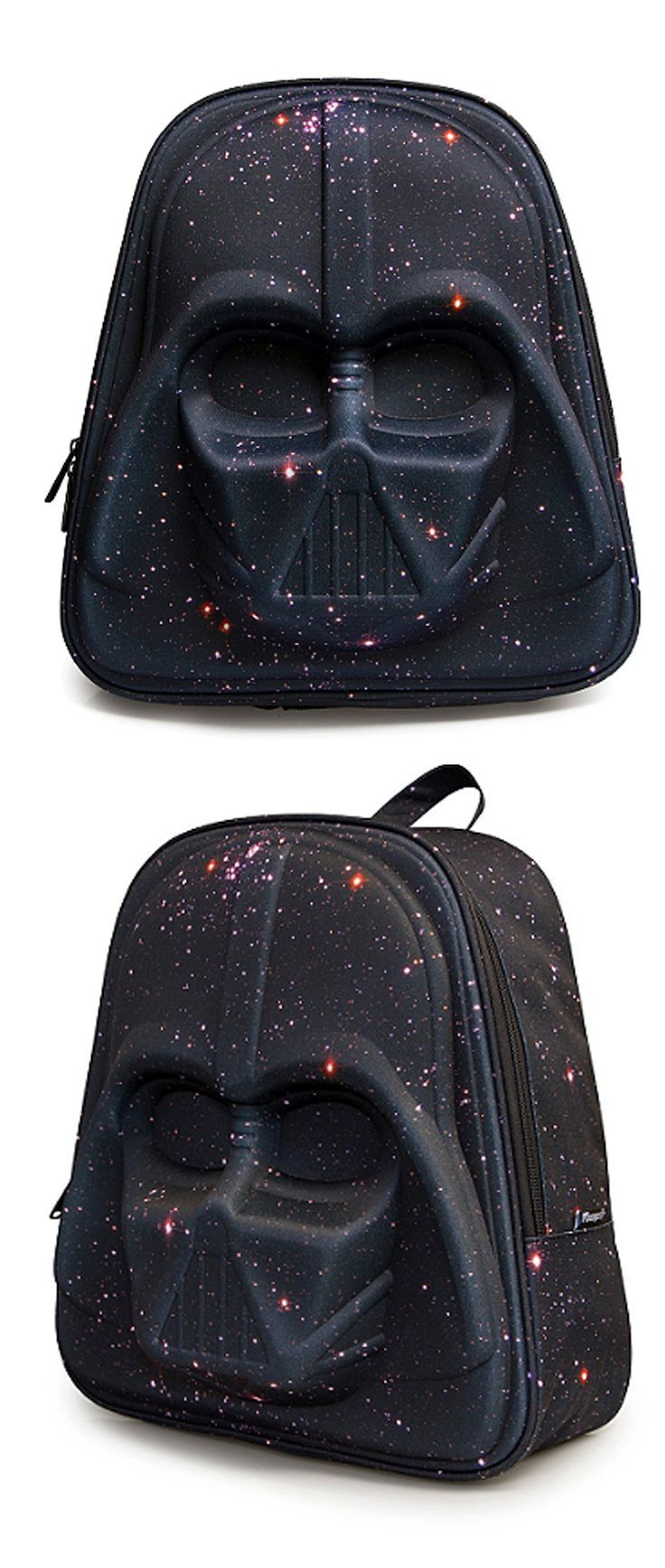 Star Wars and galaxy prints fan? You gotta have this then.  See it here==>  http://gwyl.io/loungefly-darth-vader-backpack/