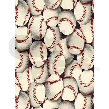Loads Of Baseballs Curtains On CafePress