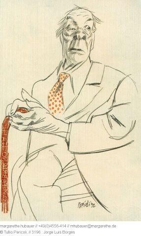 1992 // 3196 : Jorge Luis Borges - Tullio Pericoli