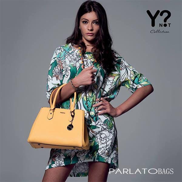 Ti aspettiamo su www.parlatobags.it con la collezione spring/summer 2016 firmata Y-not. Comodamente a casa tua in sole 24h... Che aspetti ti bastano pochi click!!! #ynot