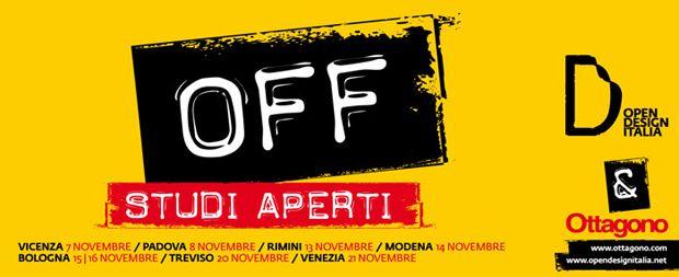 OFF Studi Aperti  #Bologna #Ottagono #Opendesignitalia