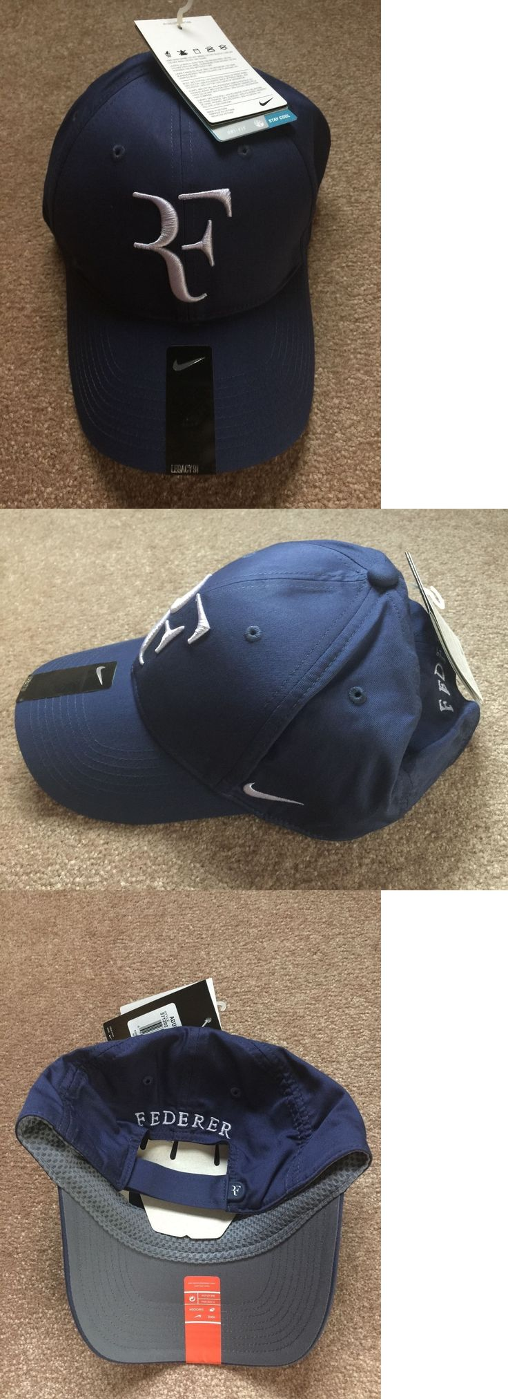 Hats and Headwear 159160: New Nike Roger Federer Hat 371202 410 -> BUY IT NOW ONLY: $40 on eBay!