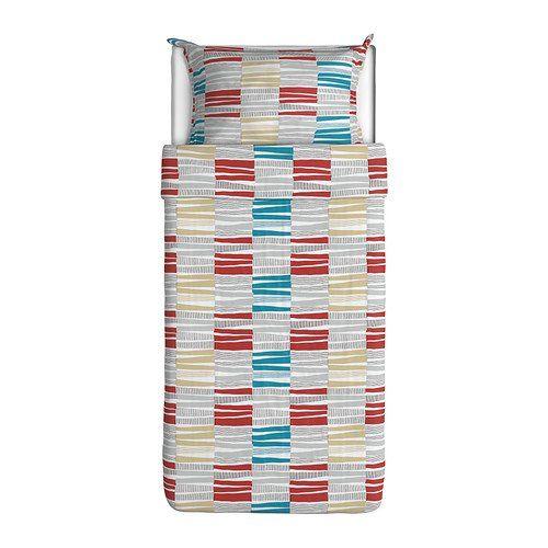 ikea lappljung rand 2pc twin duvetcover 100percent cotton ikea http - Duvet Covers Ikea