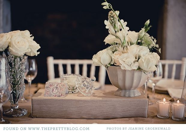 Classic Shades of white table decor