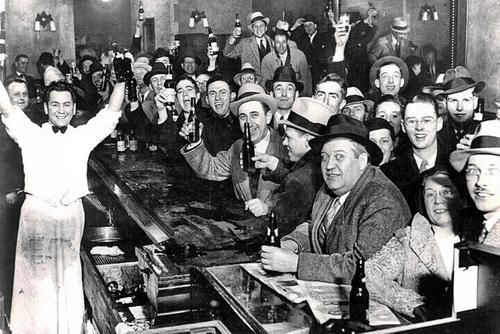 The night they ended the Prohibition of Alcohol in America - December 5th, 1933