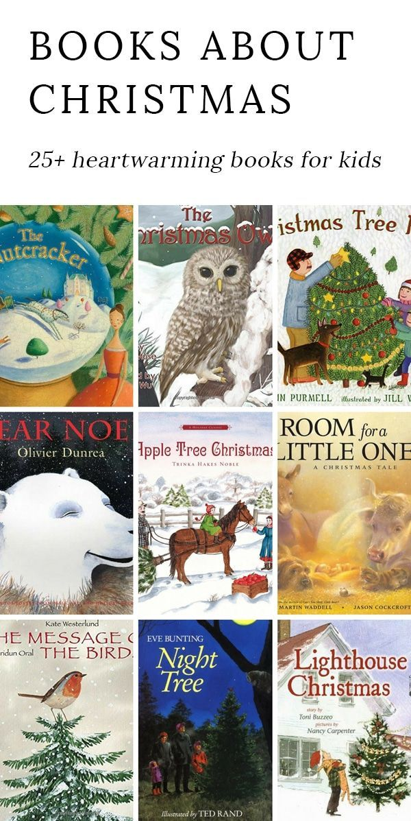 Books have the power to awaken dreams and foster creativity. Here are 25 Heartwarming Christmas Books, perfect for dreaming and snuggling with your kids at Christmastime. via @https://www.pinterest.com/fireflymudpie/