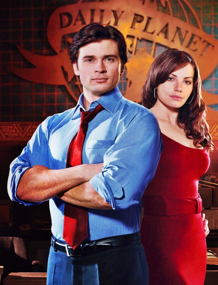 Clark Kent and Lois Lane in Smallville