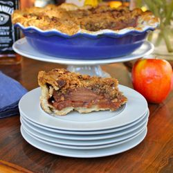 Jack Daniel's Caramel Apple Pie